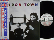 Wings - London Town (Japan)
