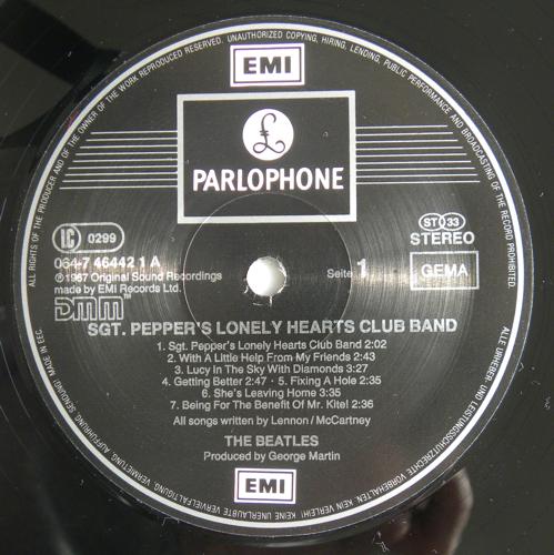 Beatles Platten Originalpressungen Sgt Pepper S Lonely